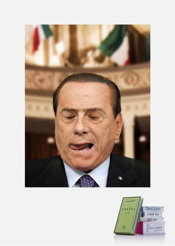 Floriano-Bookstore-Berlusconi