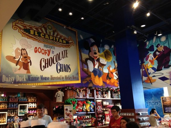 Ghirardelli Soda Fountain and Chocolate Shop and Disney Studio Store
