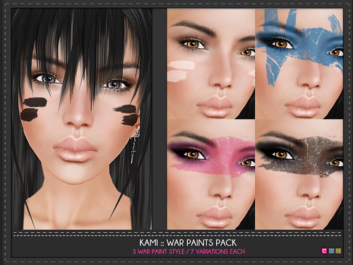 Kami War Paint Pack