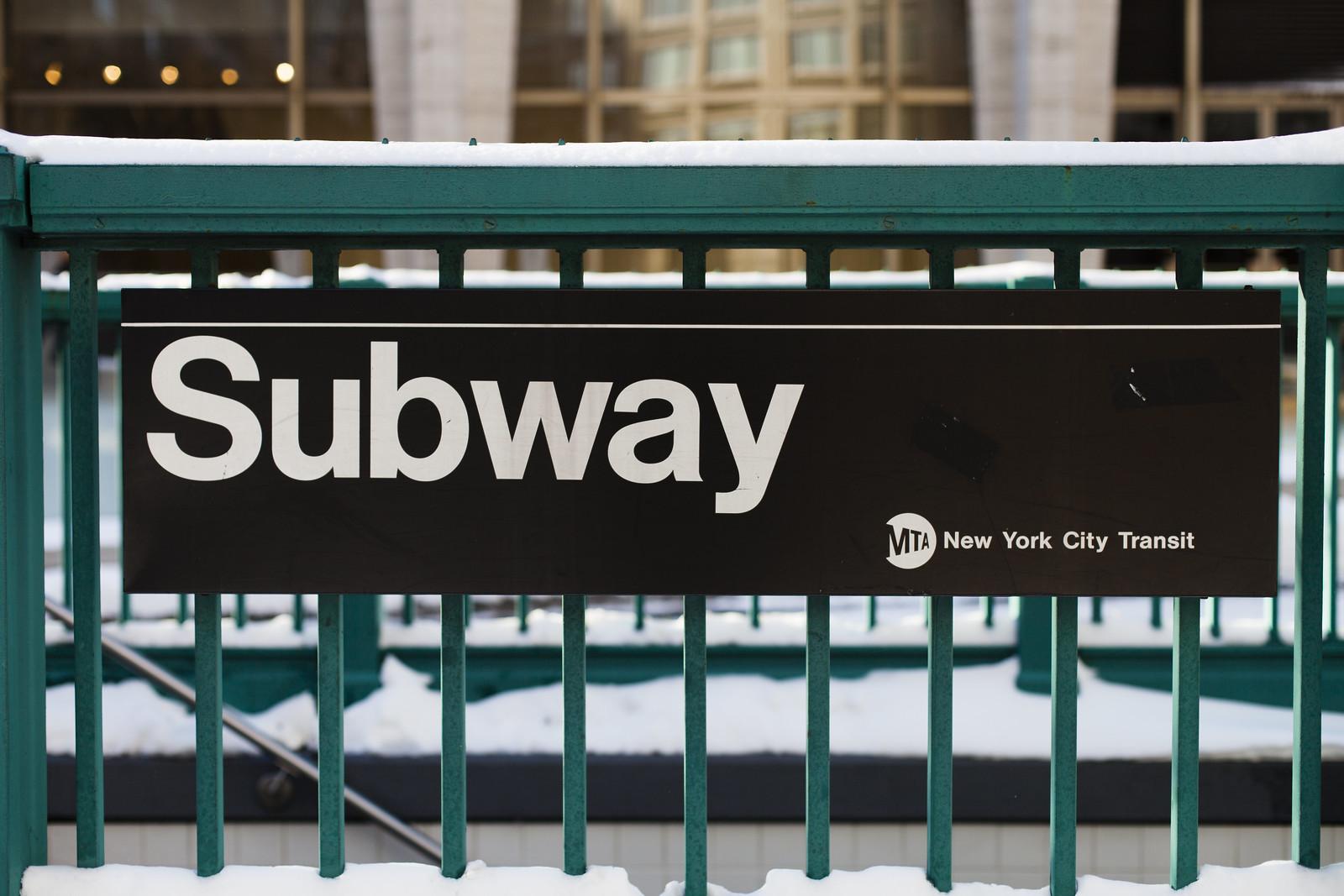 Subway Snowday by wwward0