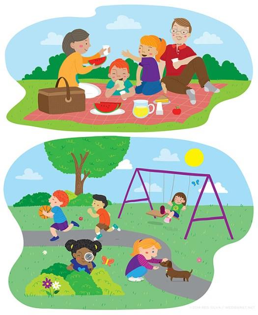 Reg Silva - primary/educational artwork