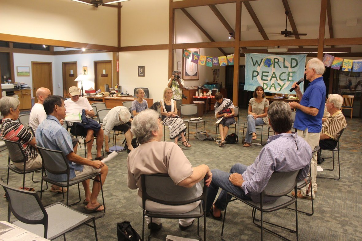 Honolulu, HI Newman Center Daniel Berrigan Remembrance 2016 (2)
