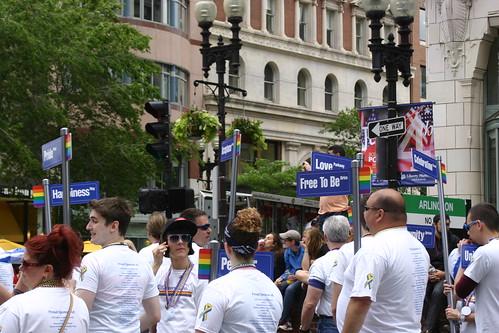 Pride street signs
