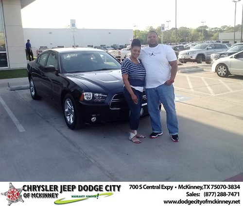 Happy Birthday to Tomeika Smith  from Hardin Russell and everyone at Dodge City of McKinney! by Dodge City McKinney Texas