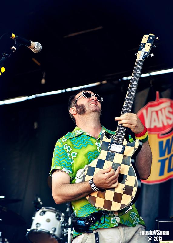 Reel Big Fish @ Warped Tour 2013