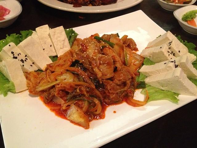 Tofu kimchi - K-pop