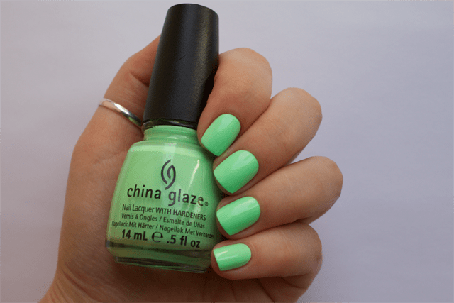 02 china glaze highlight of my summer