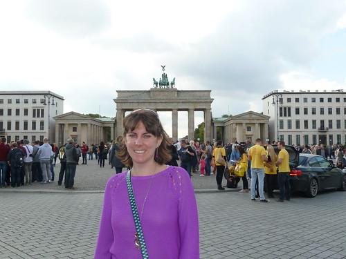 Me and the Brandenburg Gate