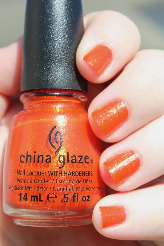 China Glaze Riveting
