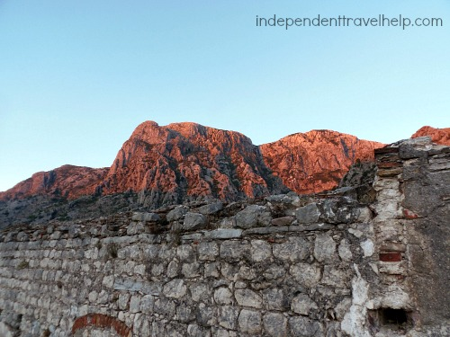 Red mountains, Kotor