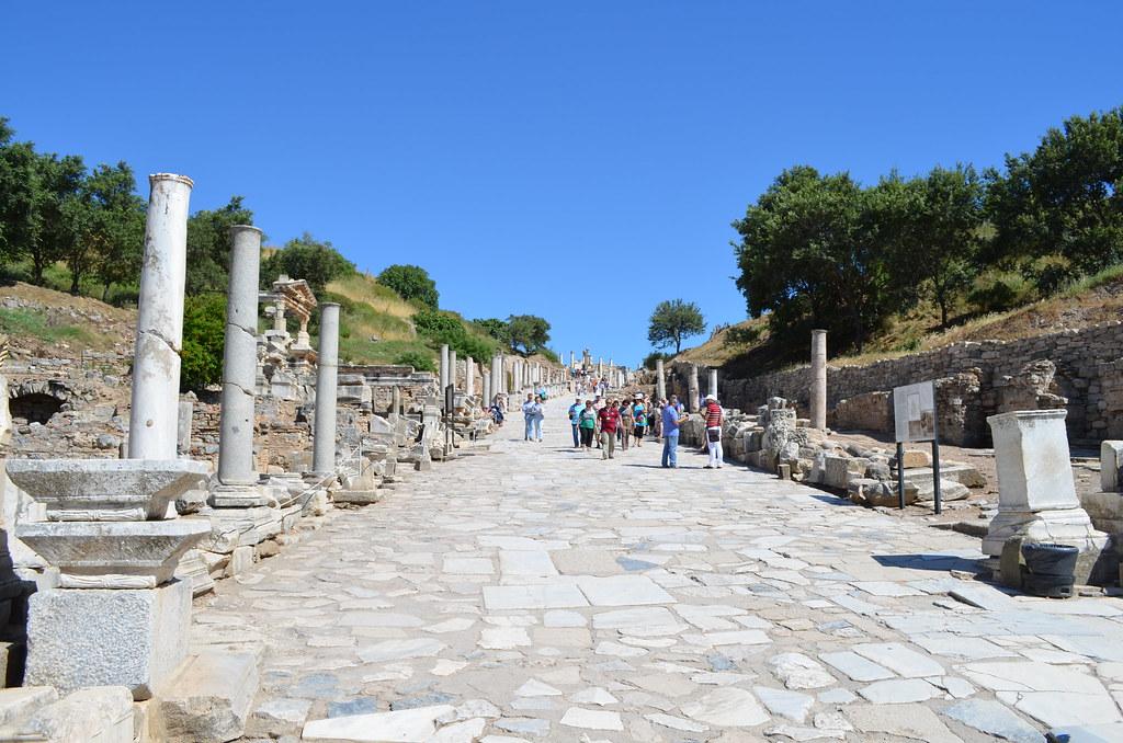 Marble Road - Ephesus, Turkey