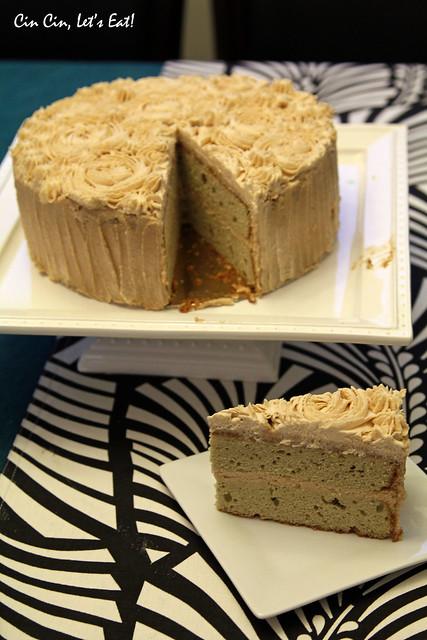 matcha chestnut cake_5