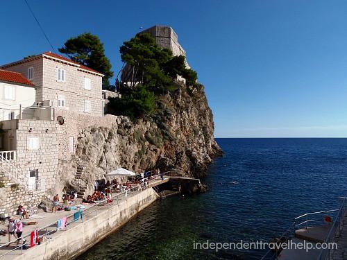 Dubrovnik 'beach'