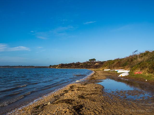 High tide at Hamworthy