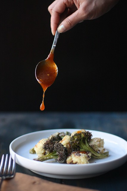 CRISPY ROASTED FLORETS WITH SPICY ASIAN DRESSING 2