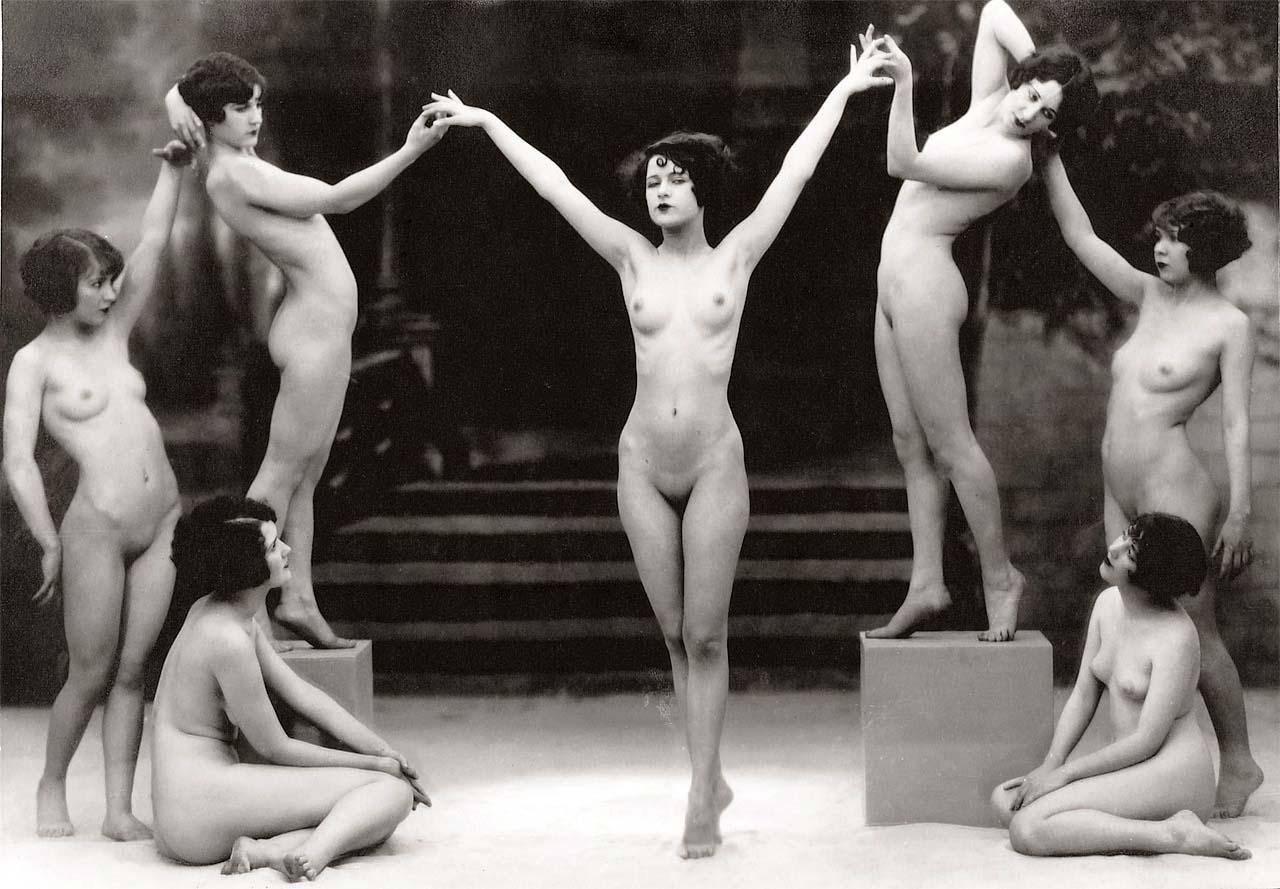 Study from The Model, 1925 via Dreams N Fantasies