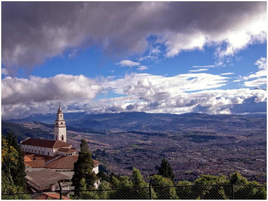 Monserrate Bogota view