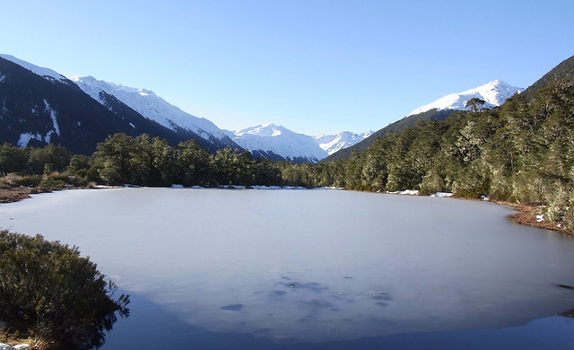 Lake at St James Walkway
