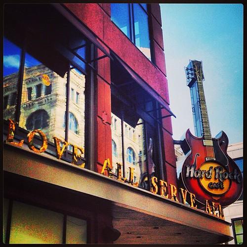 Hard Rock Cafe #denver by @MySoDotCom
