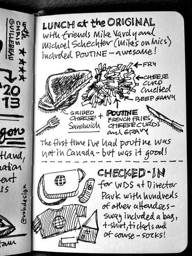 #WDS2013 Sketchnotes - 02 Portland