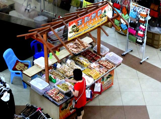 Medan Mall stall selling Foochow delights