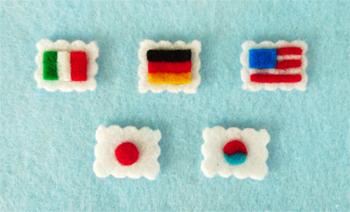 Tiny Felt Stamps