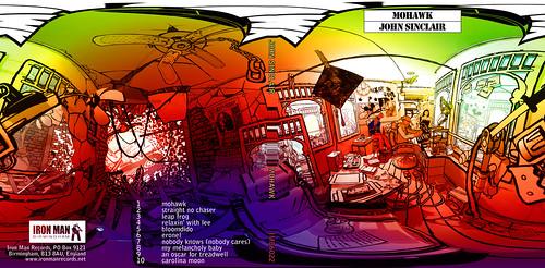 John Sinclair - Mohawk CD Gatefold back