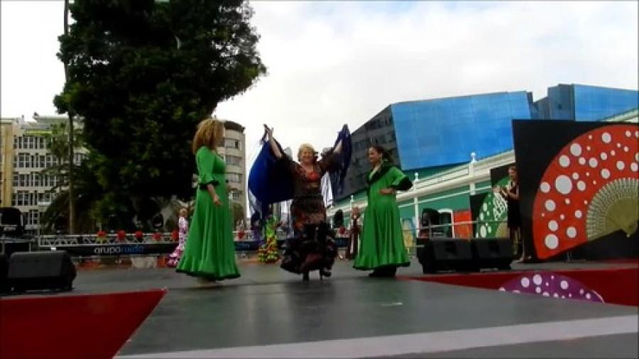 VII Feria Abril Pasarela Andaluza Grupo Toñi Medina video 02