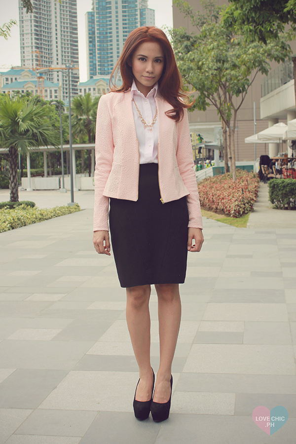 How To Interview #OOTD Love Chic
