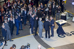 King Philippe of Belgium visits ESTEC