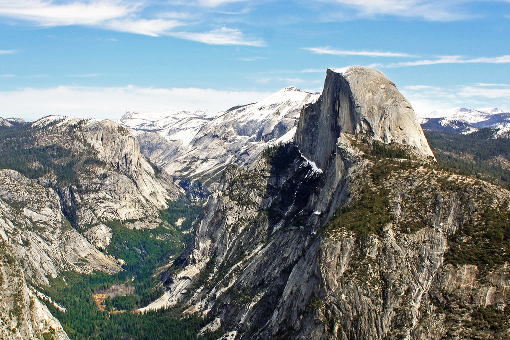 Fall Wooded Wallpaper View From Glacier Point Yosemite Ca Glacier Point Is A