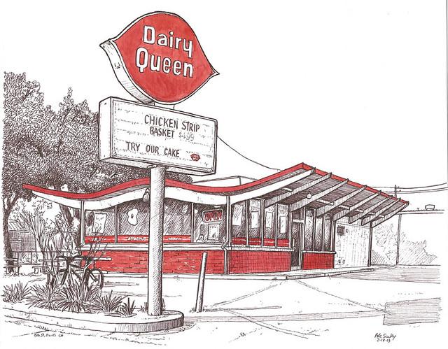 dairy queen, davis