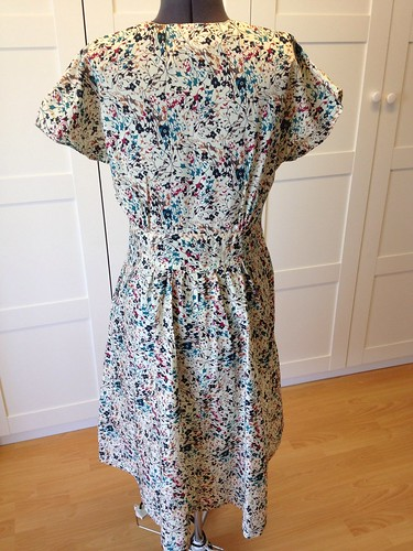 mystery Liberty neuron dress back