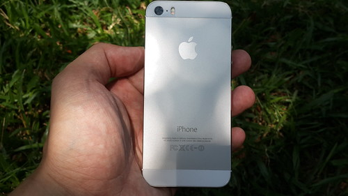 iPhone 5s ด้านหลัง