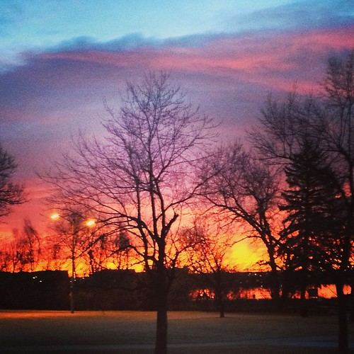 #sunrise #denver by @MySoDotCom