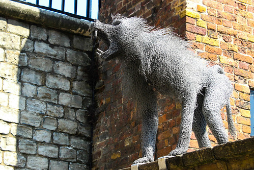 Monkey- Tower of London by Christopher OKeefe