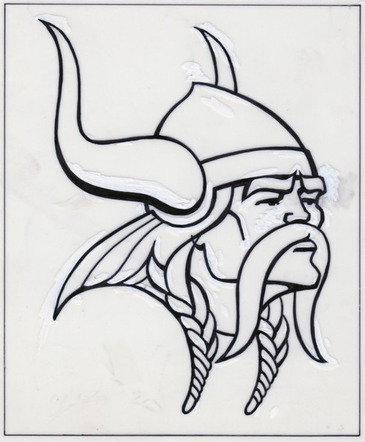 Minnesota Vikings Logo Design Sketch