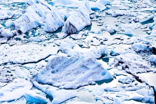 Fragmentos de hielo