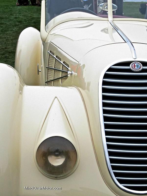 1934 Alfa Romeo 8C 2300 Spider Zagato at the Pebble Beach Concours d'Elegance