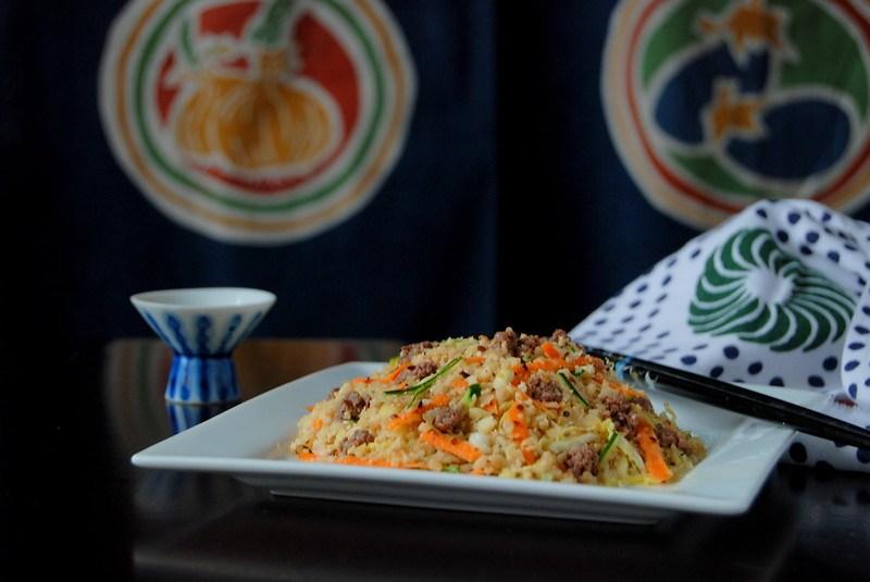 Bibimbap Korean (Cauliflower) Rice