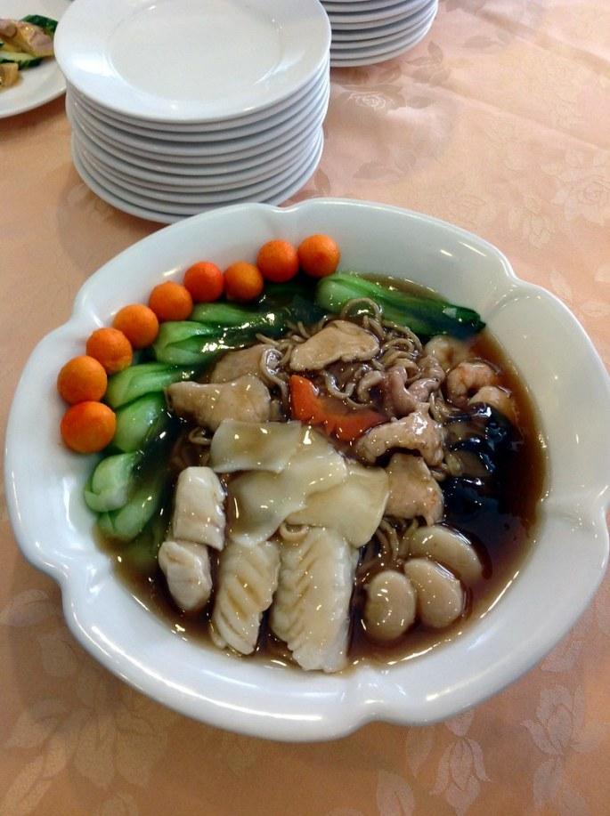 Bday noodles at Tao Yuan