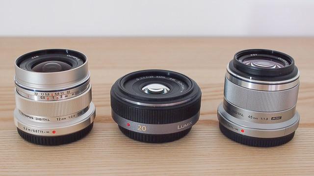 Micro 4/3rds prime lenses