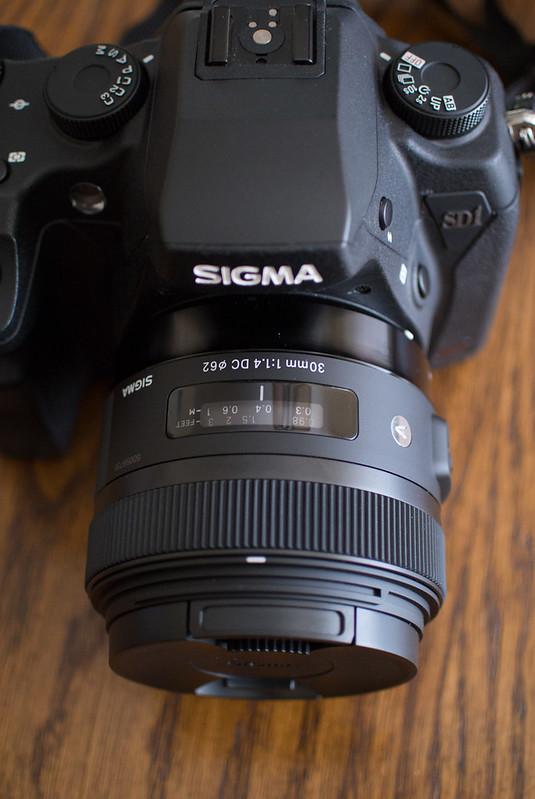 Sigma SD1 Merrill & Sigma 30mm f/1.4 ART