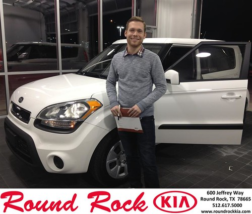 Thank you to Aaron  Turner on your new car  from Bobby Nestler and everyone at Round Rock Kia! #NewCar by RoundRockKia