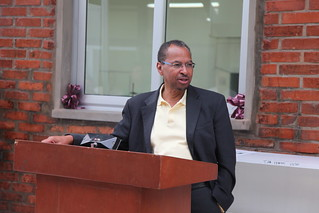Jimmy Smith making opening remark at the inaguration (Photo credit: ILRI/Addis Tigabu)