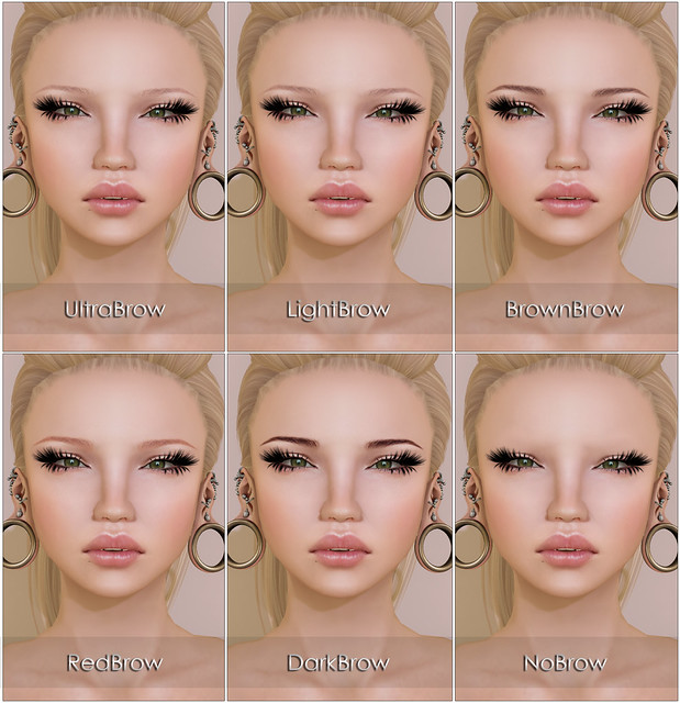 Brow colors