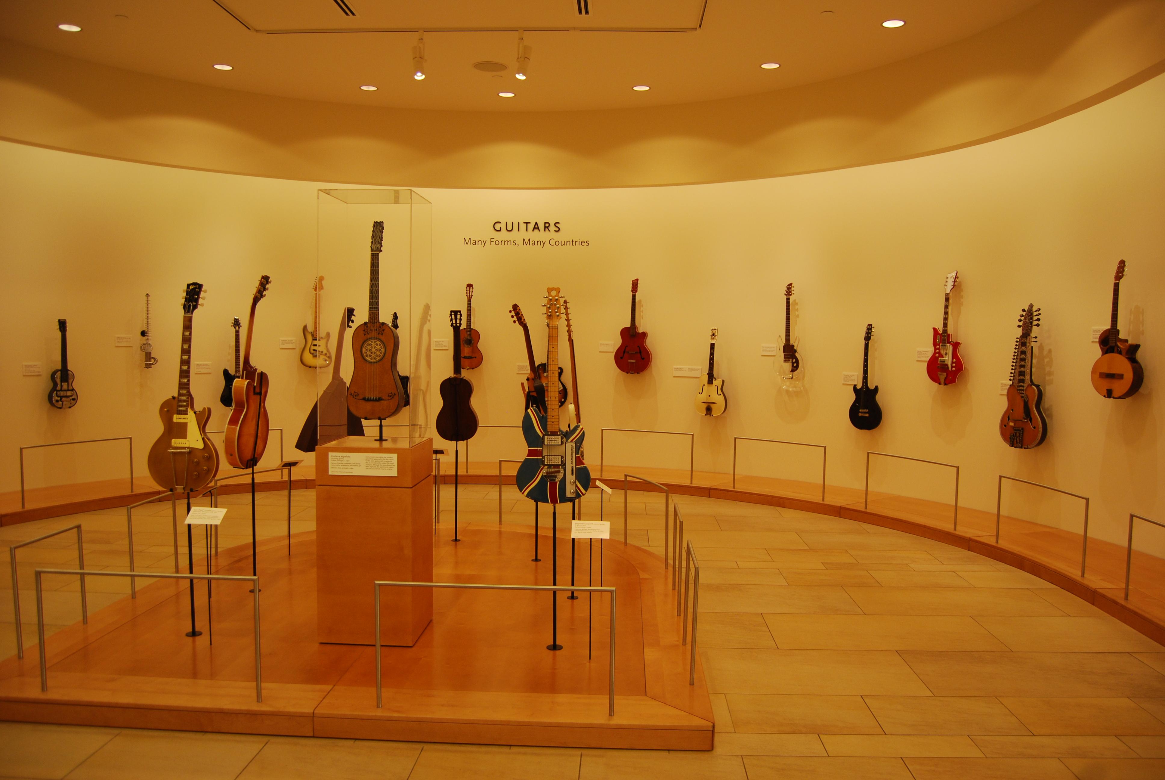 Musical Instrument Museum Guitars