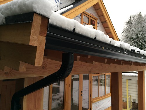 Dec 21 - we have gutters!