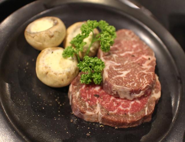 Wagyu ribeye steak at Yoree