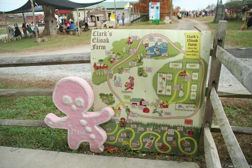 Front Entrance to Clark's Elioak Farm